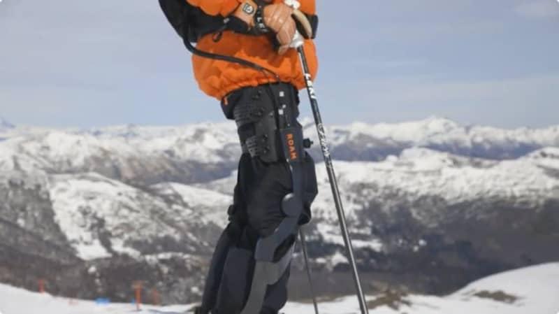 何歳になってもゲレンデを楽しめる、スキー専用外骨格「Elevate」