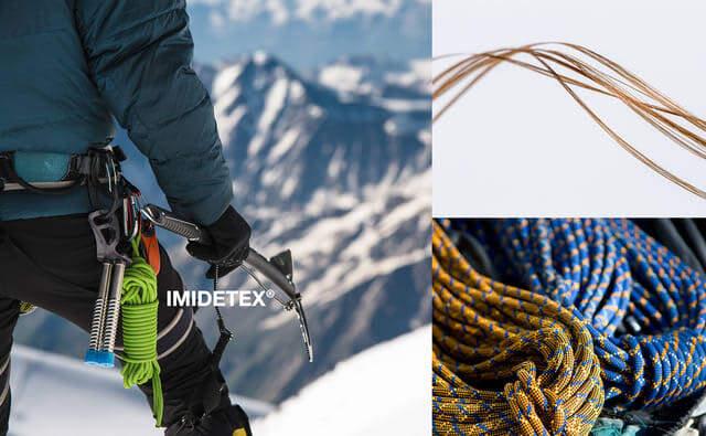 アウトドアスポーツの質を向上させるポリイミドスーパー繊維「イミドテックス」発表
