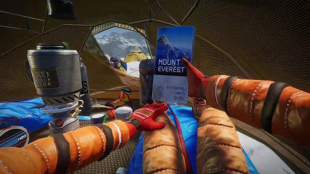 "Snow Mountain Climbing Survival Sim ""Climber: Sky is the Limit"" Steam Store Pe ..."