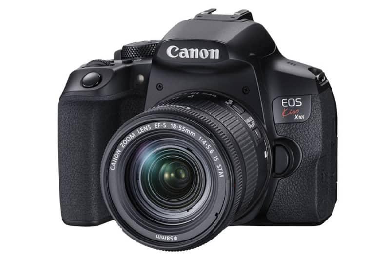 キヤノン、ファインダーを強化したデジタル一眼レフカメラ「EOS Kiss X10i」