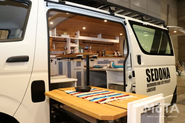 Outdoor girls must see! Super stylish Hiace camper van feature [Part XNUMX]