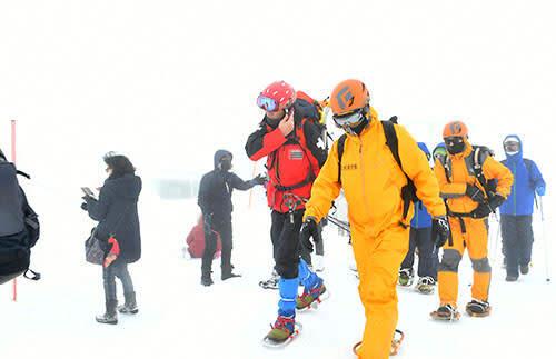 県内雪山で相次ぐ外国人遭難 訪日客増え、事故増の懸念