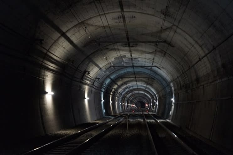 """Even a nap in the temporary limited express raview night walking tour """"Let's walk the Shomaru tunnel""""-Seibu"""